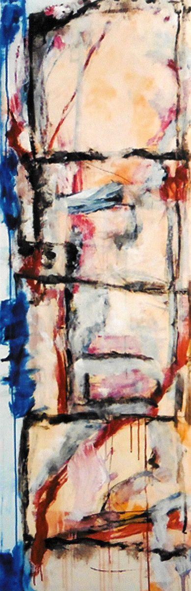 banier 17, Z.t., 2005, 200 x 65 cm