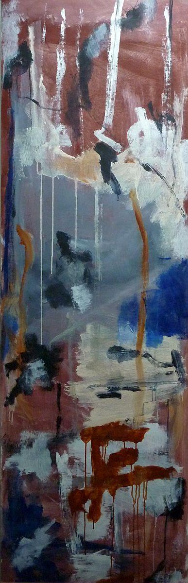 banier 18, Zen, 2005, 200 x 65 cm