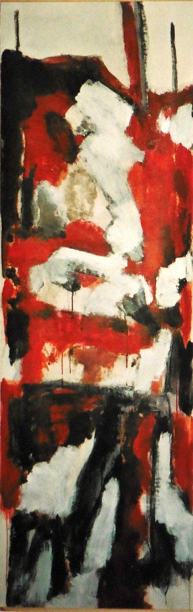 banier 21, Lascaux, 2006, 200 x 65 cm