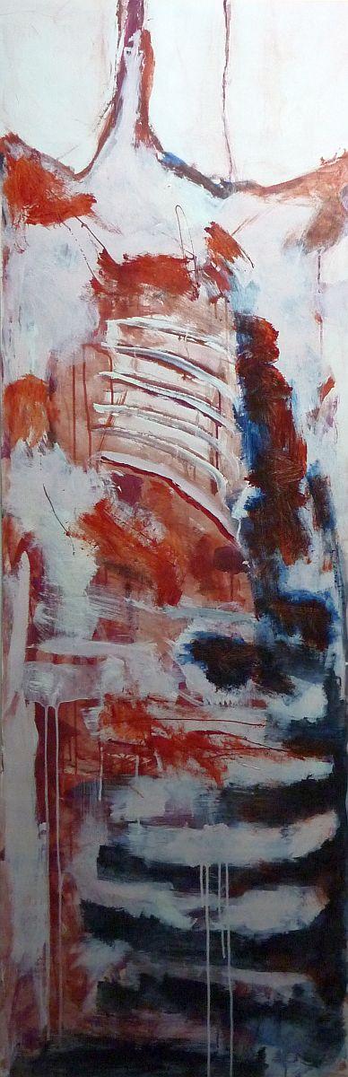 banier 22, Het Offer 4, 2006, 200 x 65 cm