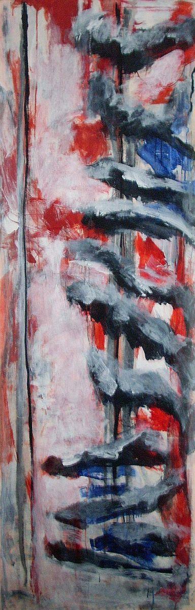 banier 25, Z.t., 2008, 200 x 65 cm, niet te koop