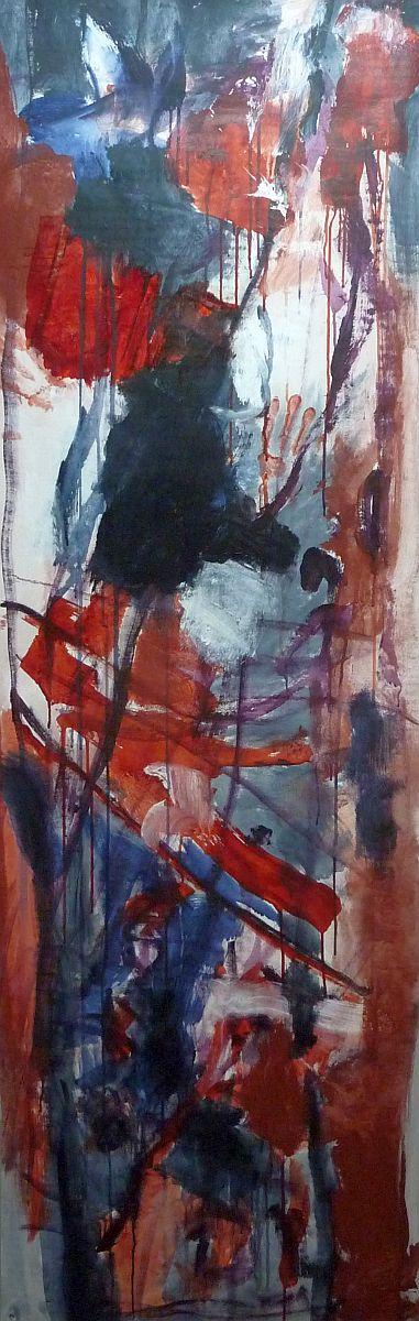 banier 26, Dies Irae, 2010, 200 x 65 cm