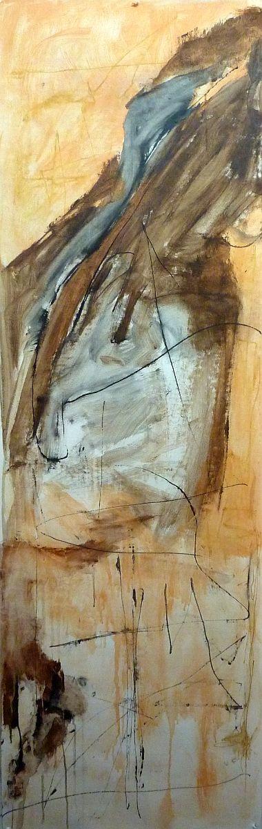 banier 27, Sjamaan, 2010, 200 x 65 cm
