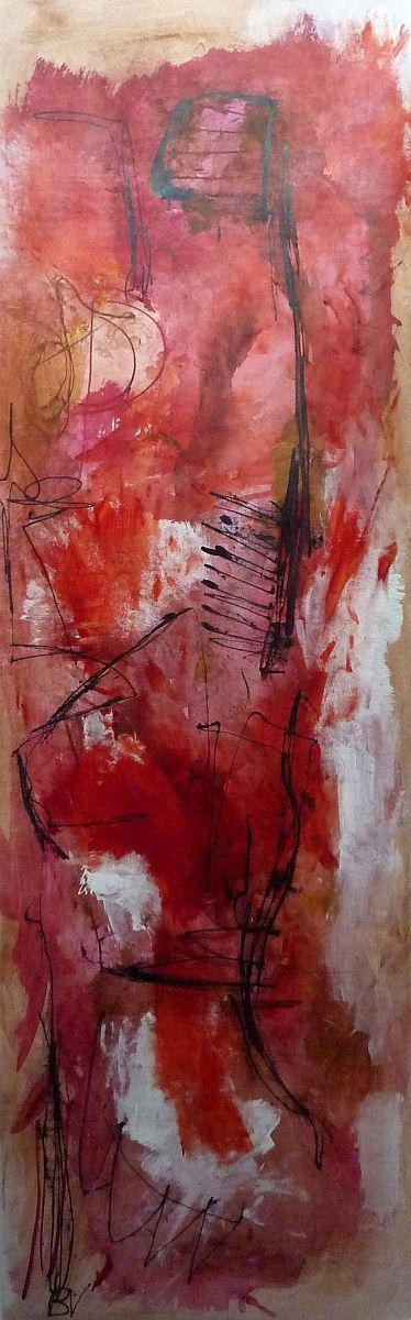 banier 31, Musicians, 2011, 200 x 65 cm