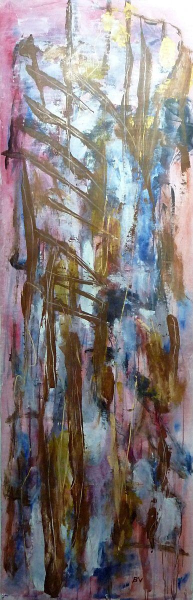 banier 32, Body & Soul, 2013, 200 x 65 cm