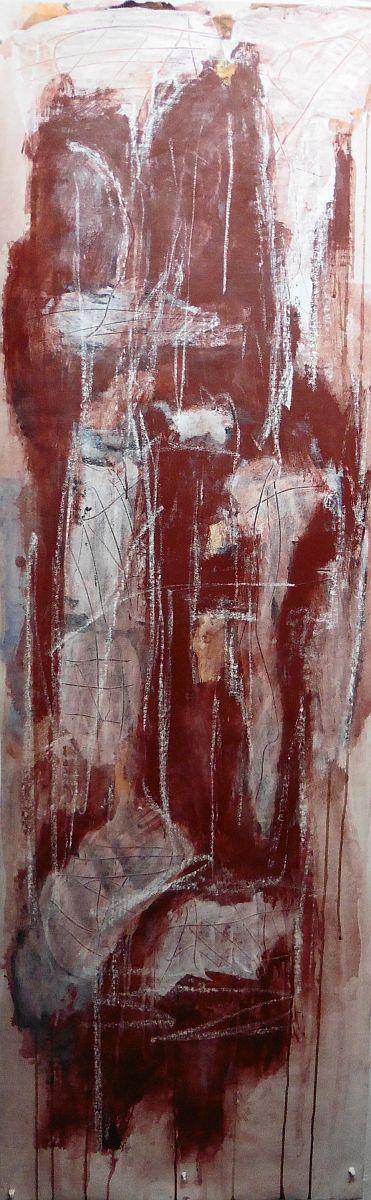 banier 33 Salomé, 2014, 200 x 65 cm
