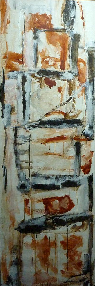banier 4, Palace, 2005, 200 x 65 cm