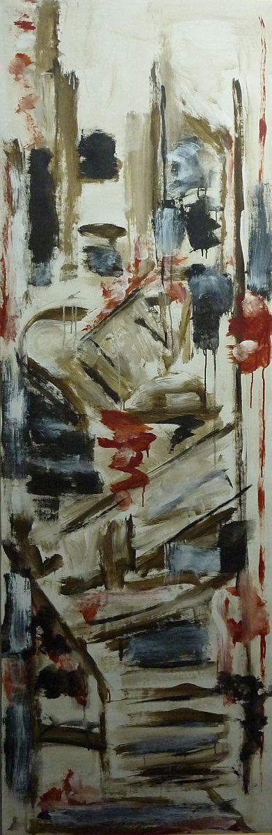 banier 5, Temple, 2005, 200 x 65 cm
