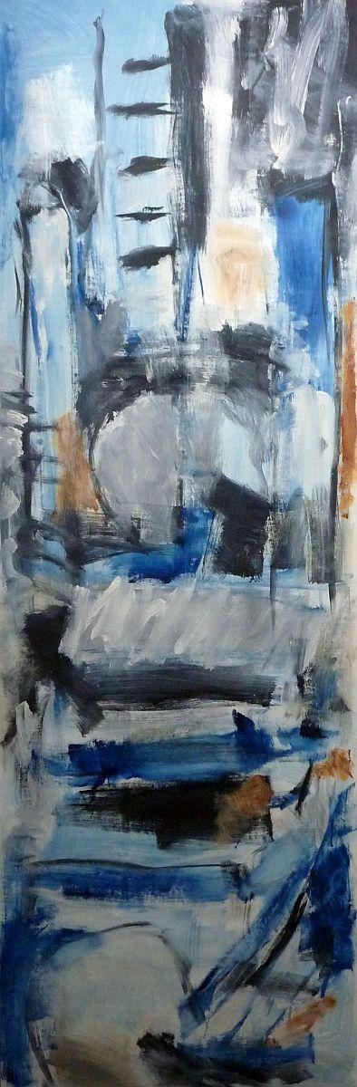 banier 7, Wind, 2005, 200 x 65 cm