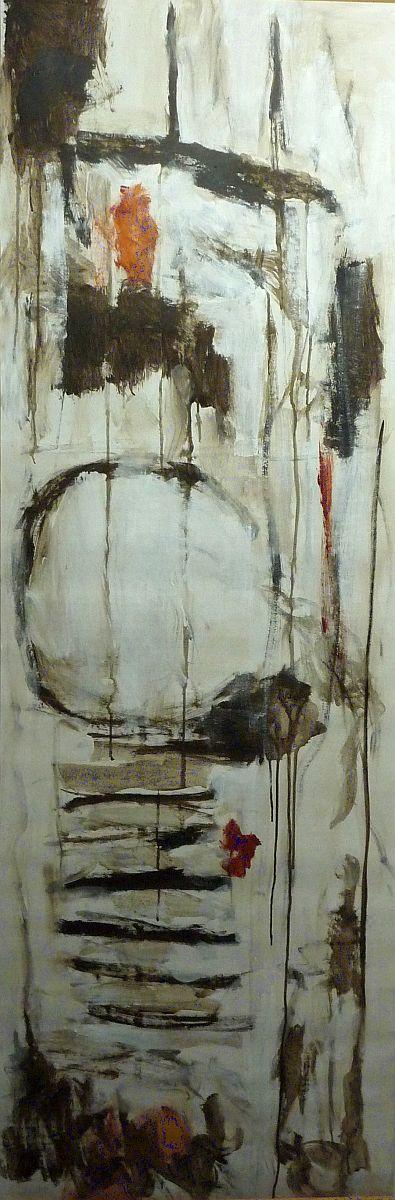banier 9, Z.t., 2005, 200 x 65 cm